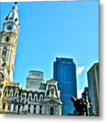 Billy Penn Metal Print by Brynn Ditsche