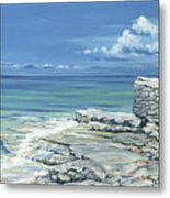 Bimini Blues Metal Print