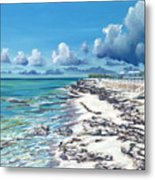 Bimini Breeze Metal Print by Danielle  Perry