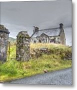 Bina's Cottage Outside Leenane Metal Print