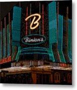 Binions Vegas Metal Print