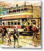 Binns Tram 1 Metal Print