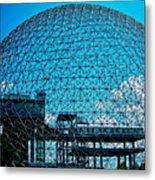Biosphere Montreal Metal Print