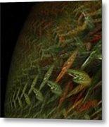 Biosphere Threatened Metal Print