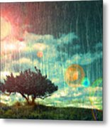 Birch Dreams Metal Print
