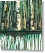 Birch Trees #5 Metal Print
