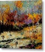 Birchtrees 459090 Metal Print