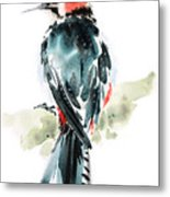 Bird Art Metal Print