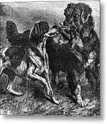 Bird Dogs, 1868 Metal Print