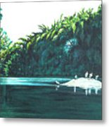 Bird Haven Metal Print