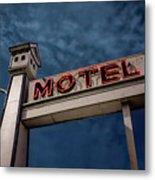Bird House Motel #2 Metal Print