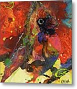Bird Is The Word Metal Print