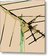 Bird Kite Metal Print