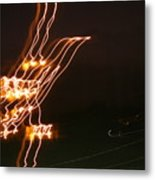 Bird Lights Metal Print