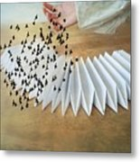 Bird Migration 2 Metal Print