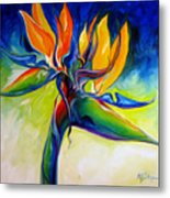 Bird Of Paradise 24 Metal Print