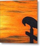 Bird Of Pray Metal Print