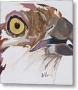 Bird Of Prey  Osprey Metal Print