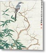 Bird On The Branch Metal Print