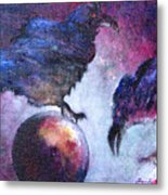 Bird Or Fiend Metal Print