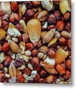 Bird Seed Metal Print
