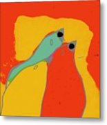 Birdies - Q11a Metal Print