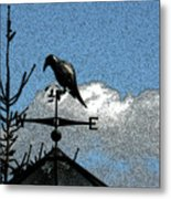 Bird's Eye View I Metal Print