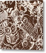 Birds From The Old World Metal Print