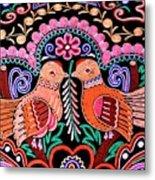 Birds In Love Metal Print