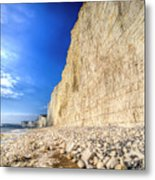 Birling Gap And Seven Sisters Metal Print