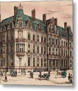 Birmingham And Midland Eye Hospital United Kingdom 1882 Metal Print by Payne and Talbot