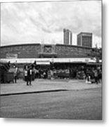 Birmingham Outdoor Market And Rag Market Uk Metal Print