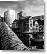 Birmingham Waterway Metal Print