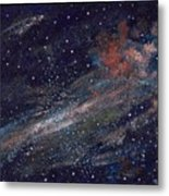 Birth Of A Galaxy Metal Print by Elizabeth Lane