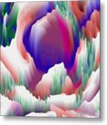 Birth Of Flower Metal Print