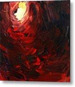 Birth Abstract Art Metal Print