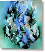 Birth With Expression Metal Print