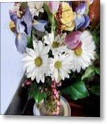 Birthday Bouquet Metal Print