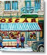 Biscuiterie Oscar Rue Ontario Metal Print