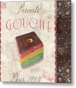 Biscuits Gouche Patisserie Metal Print