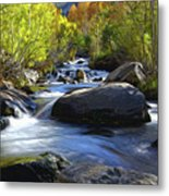 Bishop Creek Metal Print