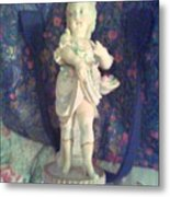 Bisque  Doll Metal Print