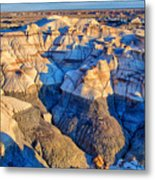 Bisti Badlands 10 Metal Print