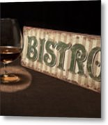 Bistro Still Life I Metal Print