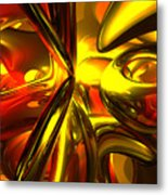 Bittersweet Abstract Metal Print by Alexander Butler
