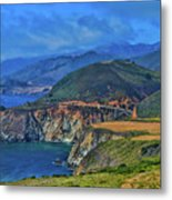 Bixby Bridge 1 Metal Print