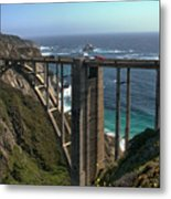 Bixby Creek Bridge 5 Metal Print