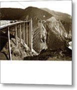 Bixby Creek Bridge Metal Print