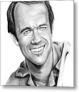 Bj-mike Farrell Metal Print