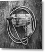 Black And Decker Drill Metal Print